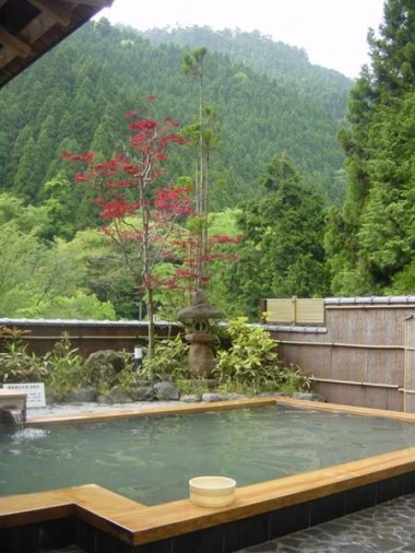 Kurama Onsen (hot spring) in the mountains north of Kyoto.
