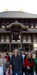 Last year's Worldschool Travel Tour Japan group in front of Todaiji Temple in Nara.
