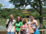 Golden Pavilion Temple Kyoto Japan