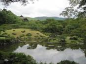 Isuien Garden in Nara, Japan